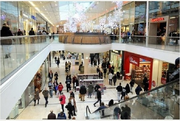 Picture of Derby's Intu Shopping Centre