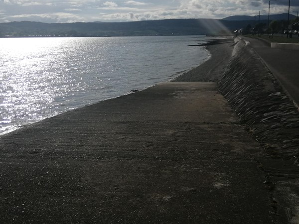 View of water at Helensburgh Seafront