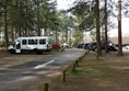 Picture of Moors Valley Country Park - Separate parking area for blue badge holders near the main entrance.