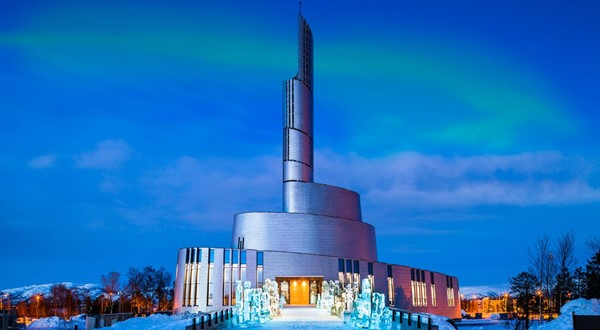 Northern lights cathedral