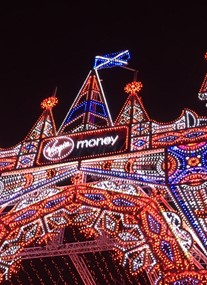 Edinburgh's Christmas at Virgin Money Street of Light